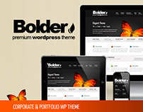 BOLDER – CORPORATE & PORTFOLIO WP THEME