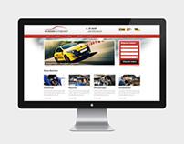 Webdesign Autobedrijf de Rover