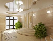House in Saratov, Russia - project & visualization