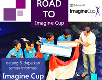 Road To Imagine Cup UNDIP Poster