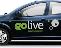 Go LIve Events Brand Development