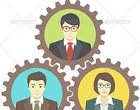 Mechanism of Teamwork