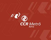Projeto de Sinalização das Estações CCR Metrô Bahia