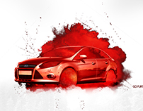 GHOST RED FORD
