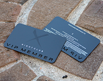 Black Metal VIP Member Cards