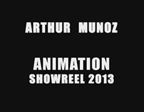 Arthur Munoz Animation Showreel 2013