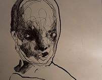 Ink Drawings, 2013