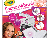 Crayola Fabric Airbrush