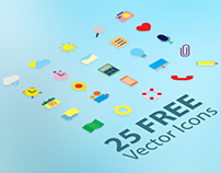 25 FREE Vector Icons