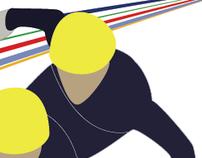 Winter Olympics Book (Short Track Speed Skating)