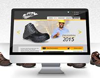 Botas Saga Website Design