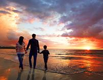 Travel - Beach Sunset