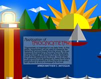 Application of Trigonometry (Math Project)