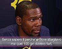 Kevin Durant for Gazzetta dello Sport