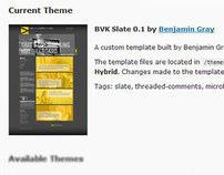 BVK.com Version 3 - Custom Wordpress Template