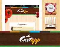 La Cartapp es web y móvil para hacer pedidos en rest...