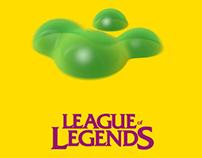League of legends minimal motion poster