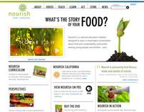Nourish Website
