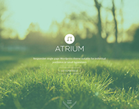 Atrium One Page Parallax Html5 & Css3 Template