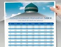 BTN | Jadwal Imsakiyah Ramadhan 1434 H