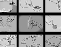 Storyboard For an Instructional Video