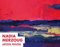 Nadia Merzoug, artiste-peintre