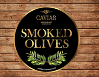 Packaging for Caviar Smoked Olives