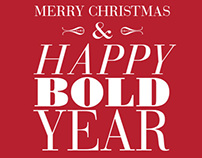 Happy Bold Year!