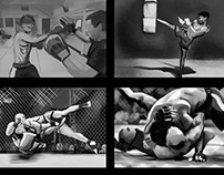 Cobra Kai MMA gym Storyboard
