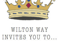 WILTON WAY ROYAL WEDDING STREET PARTY POSTER