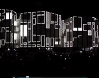 projection mapping @ alvar aalto kulturhaus, wolfsburg