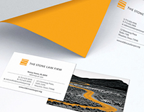 The Stone Law Firm branding