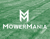 Mower Mania - Logo design