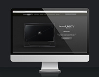 Samsung UHD Microsite
