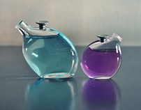 -Glass Flame Work -  Tiny Perfume Bottles