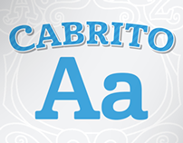 Introducing Cabrito, a typeface for children.