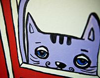 Graffiti design of children's studio «Star»