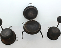 Frying Pan Chairs