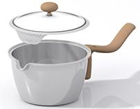 Cook & Drain Saucepan