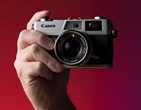 Canonette Rangefinder in Hand