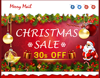 Merryness-christmas email template
