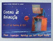 Brochure for animation film festival in Angola