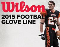 Wilson Football Gloves - 2015 Lineup