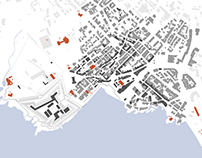 Illustration of the urban development of Cascais, PT