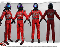 3D NASCAR Driver