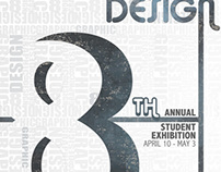 SNHU Graphic Design Student Exhibition Poster