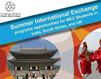 summer international exchange students