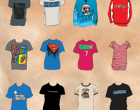 T-Shirt Collection Project