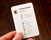 Michael Janda Business Cards