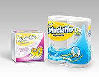 Papel Higiênico Maciatto (Design de Embalagem)